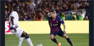 Cuplikan Gol Barcelona vs Tottenham Hotspur, ICC 2018