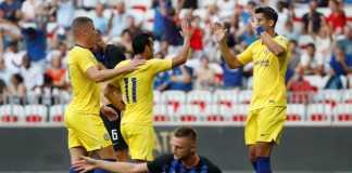Cuplikan Gol Chelsea vs Inter Milan ICC 2018