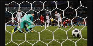 David De Gea kebobolan tiga dari tiga tembakan Cristiano Ronaldo pada laga menegangkan SPanyol vs Portugal di babak penyisihan grup Piala Dunia 2018.