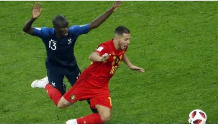 Bintang Timnas Belgia, Eden Hazard, mengecam taktik Timnas Prancis saat kedua tim bertemu di semifinal Piala Dunia 2018, Rabu (11/7) dinihari tadi.