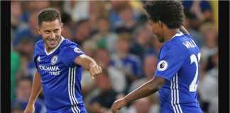 Willian berniat mengirim Eden Hazard dan skuad Belgia pulang lebih awal dari Piala Dunia 2018.