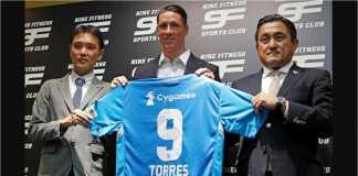 Fernando Torres diperkenalkan sebagai pemain baru di Sagan Tosu, klub J1 Lague Jepang.