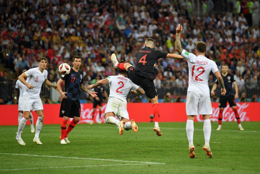 Gol Ivan Perisic, Kroasia vs Inggris, Semifinal Piala Dunia 2018