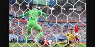 Thomas Meunier menyambar assist dari Nacer Chadli untuk menjadi gol pertama Belgia ke gawang Inggris pada laga perebutan juara ketiga Piala Dunia 2018, Sabtu malam.