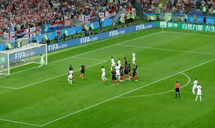 Hasil Kroasia vs Inggris, Semifinal Piala Dunia 2018