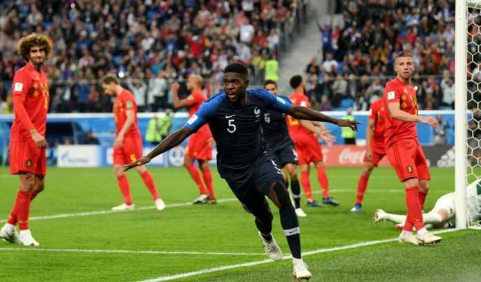 Hasil Prancis vs Belgia, Semifinal Piala Dunia 2018