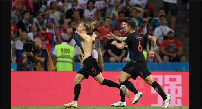 Sejumlah rekor bertumbangan pada laga Rusia vs Kroasia, Minggu dinihari.