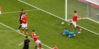 Hasil Rusia vs Kroasia, Piala Dunia 2018