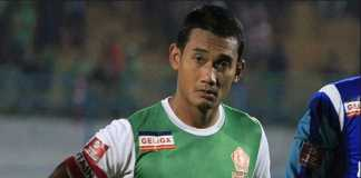 Kapten PSMS Medan, Legimin Raharjo, katakan Madura United menang beruntung, usai tim Ayam Kinantan kandas 0-1 di Stadion Pamekasan, Minggu (8/7).