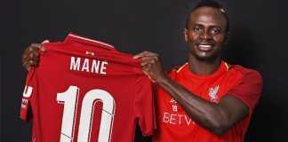 Liga Inggris - Bintang Liverpool Sadio Mane Kenakan No.10 Musim Depan.