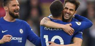 Liga Inggris - Cesc Fabregas Minta Chelsea Pertahankan Eden Hazard.