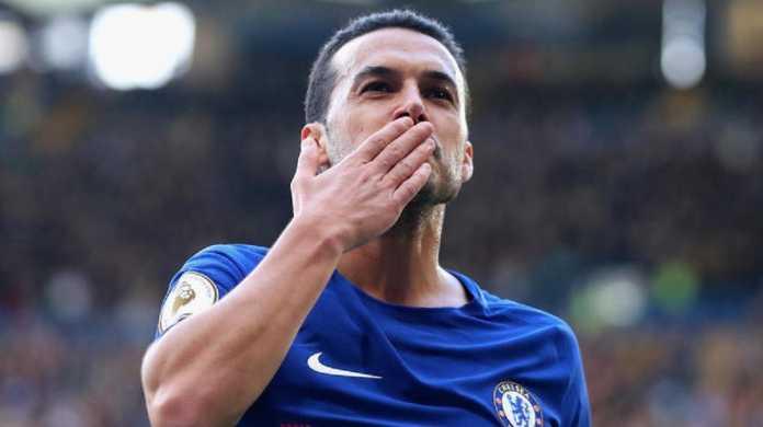 Liga Inggris, Chelsea, Maurizio Sarri, Pedro Rodriguez, Pep Guardiola