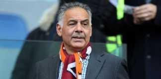 Liga Italia - James Pallotta Dilarang Saksikan Pertandingan AS Roma.