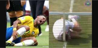 Aksi-aksi diving Neymar yang bikin muak ditiru oleh seorang petenis di Wimbledon, kemarin, guna menambah ramai ejekan terhadap striker Brasil tersebut.
