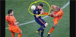 Nigel de Jong, pemain Belanda yang terkenal dengan tendangan karatenya ke dada pemain Spanyol Xabi Alonso pada Piala Dunia 2010, pindah ke Al Ahli Qatar.
