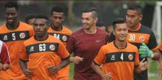 Liga Indonesia - Perseru Serui Bertekad Hindari Zona Merah.