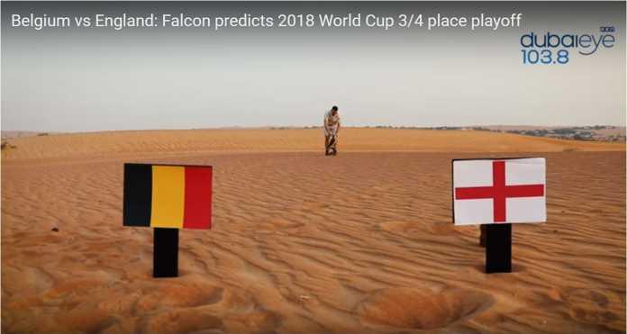 Hanya dukun Farah Falcon yang memberi prediksinya untuk perebutan tempat ketiga Piala Dunia 2018, Sabtu, antara Belgia vs Inggris.
