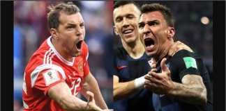 Kroasia diramalkan menang tipis 1-0 atas Rusia karena tuan rumah Piala Dunia 2018 itu memainkan anti-sepakbola pada laga melawan Spanyol, terakhir kali.