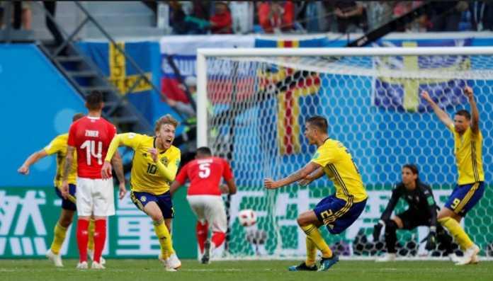 Timnas Swiss kembali kecewa usai dikalahkan Swedia di babak 16 besar Piala Dunia 2018, setelah sebelumnya alami nasib sama di Euro 2016.