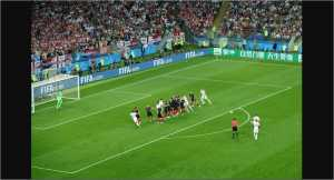 Video Highlights Cuplikan Gol Kroasia vs Inggris, 12/07/2018