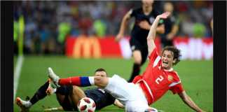 Video Highlights Cuplikan Gol Rusia vs Kroasia, 08/07/2018