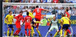 Video Highlights Cuplikan Gol Swedia vs Inggris, 07/07/2018
