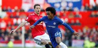 Gelandang Chelsea, Willian, Liga Inggris