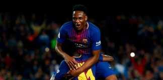 Yerry Mina berharap tinggalkan Barcelona dan gabung Everton, yang dinilai sebagai klub yang tak terlalu banyak tekanan dan bisa memberinya waktu bermain.