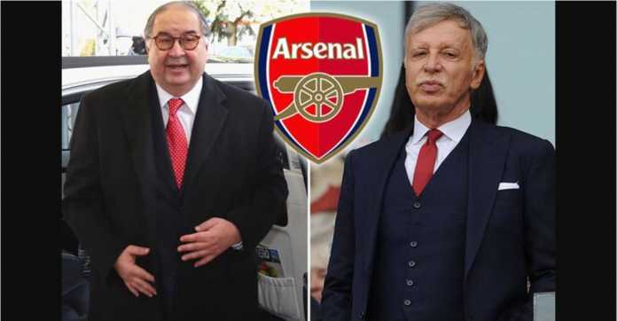 Arsenal, Stan Kroenke, Alisher Usmanov