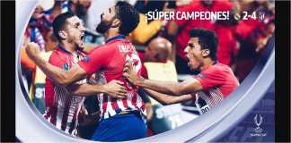 Atletico Madrid, Piala Super Eropa 2018