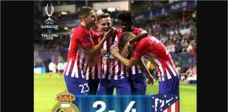 Atletico Madrid, Piala Super Eropa