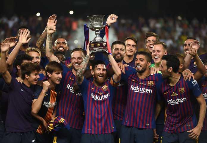 Barcelona, Juara Piala Super Spanyol 2018
