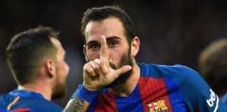 Berita Bola, Barcelona, Sevilla, Aleix Vidal