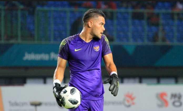 Kiper Andritany Dongkrak Semangat Timnas Indonesia U-23
