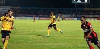 Berita Liga Indonesia, Persipura Jayapura, Barito Putera