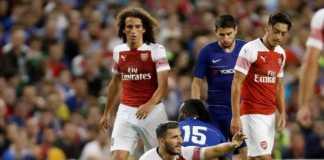 Berita Bola Internasional, Arsenal, Chelsea, Sead Kolasinac, Aaron Ramsey