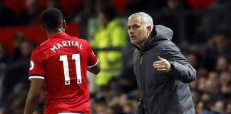 Berita Liga Inggris, Manchester United, Anthony Martial, Jose Mourinho