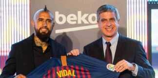 Berita Liga Spanyol, Barcelona, Arturo Vidal