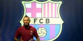 Berita Transfer,Barcelona,Arturo Vidal