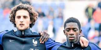 Berita Transfer, Barcelona, PSG, Adrien Rabiot, Ousmane Dembele