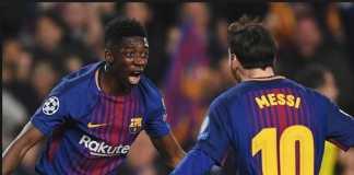 Berita Transfer, Barcelona, PSG, Ousmane Dembele