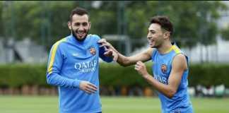 Berita Transfer, Barcelona, Sevilla, Munir El Haddadi, Aleix Vidal