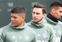 Berita Transfer, Manchester United, Jose Mourinho, Matteo Darmian, Marcos Rojo