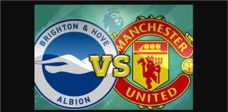 Brighton vs Manchester United, Liga Inggris
