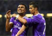 Casemiro, Cristiano Ronaldo