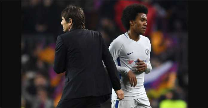 Chelsea, Antonio Conte, Willian