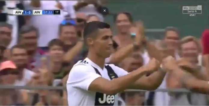 Cristiano Ronaldo, Juventus, Gol