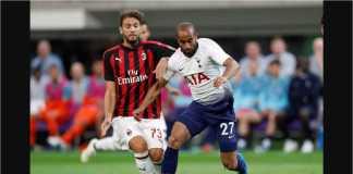 Cuplikan Gol Tottenham Hotspur vs AC Milan, ICC 2018