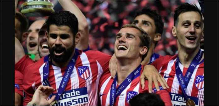 Diego Costa, Antoine Griezmann, Atletico Madrid