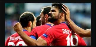 Diego Costa, Gol, Atletico Madrid